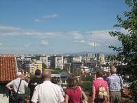 Blick hinüber auf das neue plovdiv