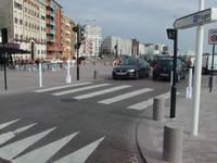 Weinlese-Postkarten-Le Havre Boots-Rettungsboot in