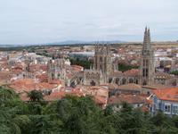 Blick auf Burgos