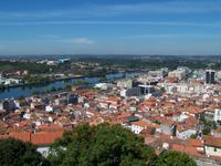 Blick auf Coimbra und den Rio Mondego