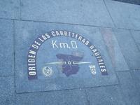 Nullpunkt am Puerta del Sol