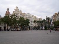 Rathausplatz in Valencia