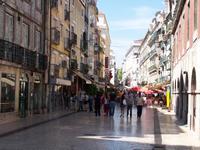 Rua Santo Antao in Lissabon