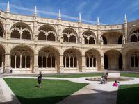 Säulengang im Hieronymuskloster