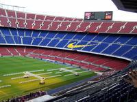 das Stadion Camp Nou- FC Barcelona