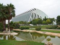 die Stadt der Kunst und Wissenschaft in Valencia