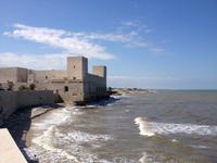 Mittagspause in Trani