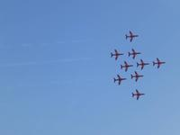 Red Arrows Flugshow