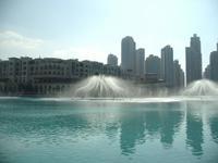 Klang-Wasserspiele an der Dubai Mall