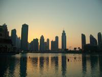 Abendstimmung an der Dubai-Fontäne