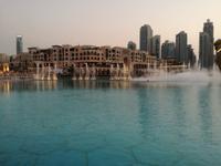 Wasserspiele bei der Dubai Mall