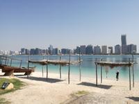 Skyline von Abu Dhabi
