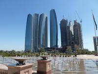 Blick vom Emirates Palace