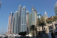 Hochhausbauten in Dubai Marina