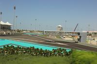 Teilstück der Formel 1 Rennstrecke