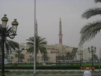 Die King Faisal Moschee von Sharjah