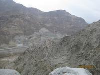Auf dem Weg nach Fujairah (Hajar Gebirge)