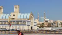 Sharjah: Zentralsouk (Blauer Souk)