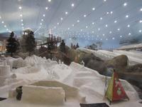 Blick in die Skihalle der Mall of Emirates