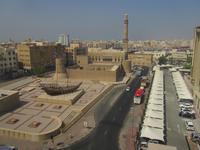 Blick vom Hotel auf das Dubai Museum