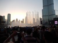 Wasserspiele am Burj Khalifa - Dubai Fountains