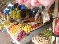 Freitagsmarkt auf dem Weg zur Ostküste