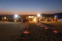 Eingang zum Wüstencamp