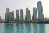 Dubai - Wasserfontänen