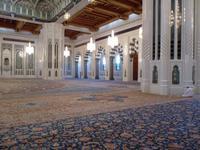 098 Muscat im Oman - Besichtigung der Großen Moschee