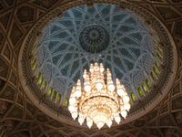 100 Muscat im Oman - Besichtigung der Großen Moschee