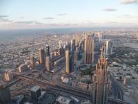 Burj Khalifa, Blick vom 124 Stock
