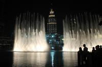Dubai: Wasserfontänen