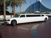 Limousine vor dem Burj al Arab