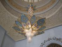 Rosette der Sheikh-Zayed-Moschee