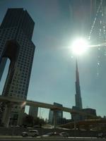 Blick auf den Burj Khalifa