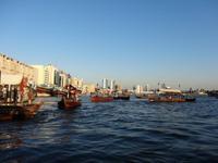 Blick vom Dubai-Creek