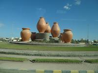 Motto-Kreisverkehr in Fujairah