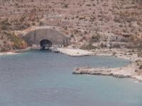Einziger U-Boot Stützpunkt von Albanien