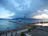 Ausblick vom Hotelzimmer in Vlora