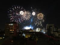 Feuerwerk zum Nationalfeiertag