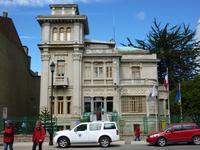 Das Rathaus von Punta Rathaus