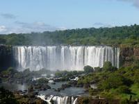 Iquazu-Wasserfälle brasilianische Seite