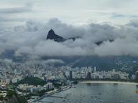 Corcovado im Wolkenmeer, Rio de Janeiro