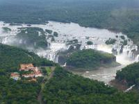 Helikopterflug über die Iguazú-Wasserfälle