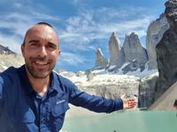 Wanderung Laguna y Base de las Torres in Torres del Paine - Patagonien (3)