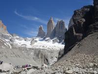 Wanderung Laguna y Base de las Torres in Torres del Paine - Patagonien (5)