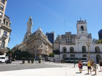 Stadtrundgang in Buenos Aires in Plaza de Mayo (1)