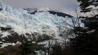 Spaziergang entlang des Gletscher Perito Moreno
