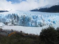 Patagonien - am Perito Moreno-Gletscher
