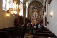 In der Kapelle von Schloss Esterházy